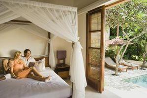 Farvekombinationer for soveværelser med tæppe farver