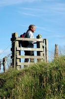 Indstillinger for gåtur gennem hegn