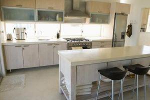 Hvordan til at dukke op igen laminat køkken bordplader
