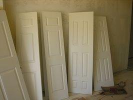 Hvordan at ramme og størrelse ru døre
